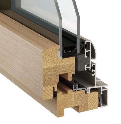 Fenêtre avec double vitrage - eben