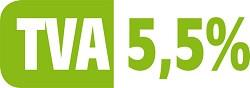 logo TVA réduite