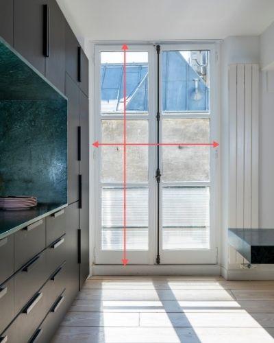 dimension hauteur largeur d'une fenêtre à rempalcer