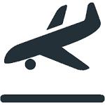 icone avion qui décolle