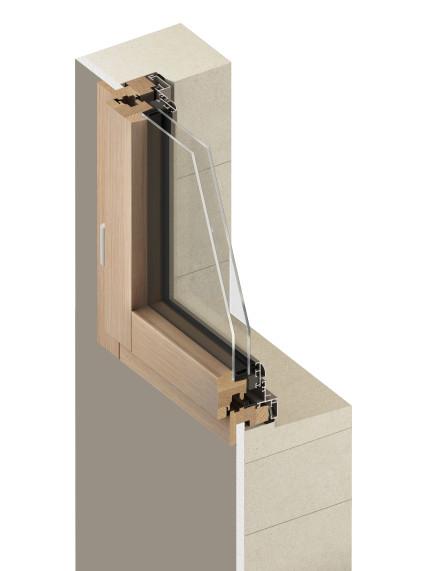 schéma d'un remplacement de fenêtre en dépose totale