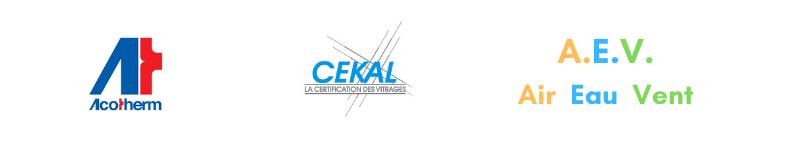 logo certification performance fenetre acotherm cekal