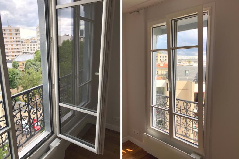 Pose fenêtres eben réussie