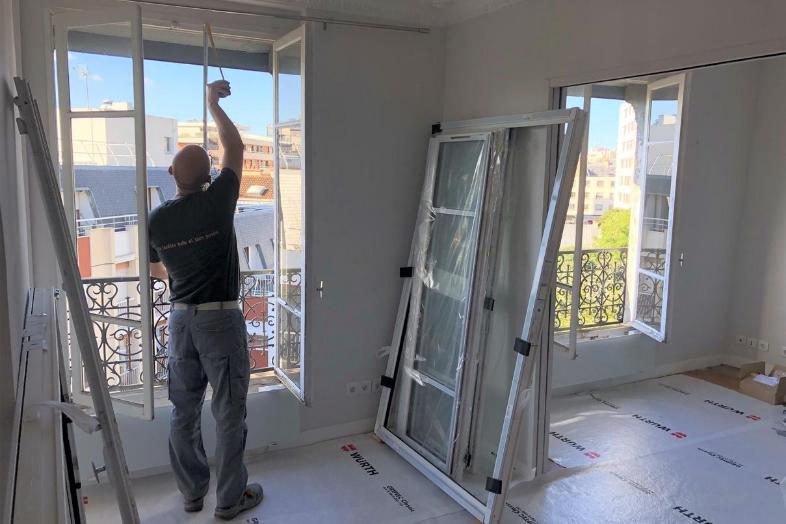 vérification des mesures de l'ancienne fenêtre