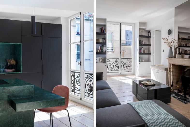 Pose de fenêtres eben en bois et aluminium à Paris