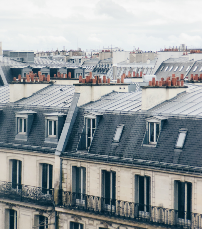 Fenêtre eben bois -aluminium à Paris