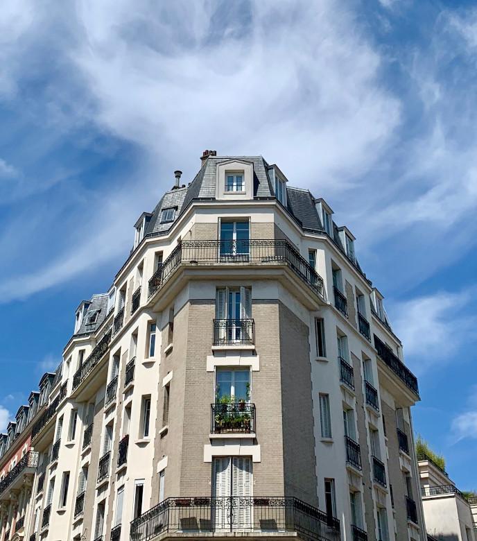 Fenêtre immeuble paris