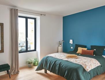 Fenêtre gris anthracite chambre