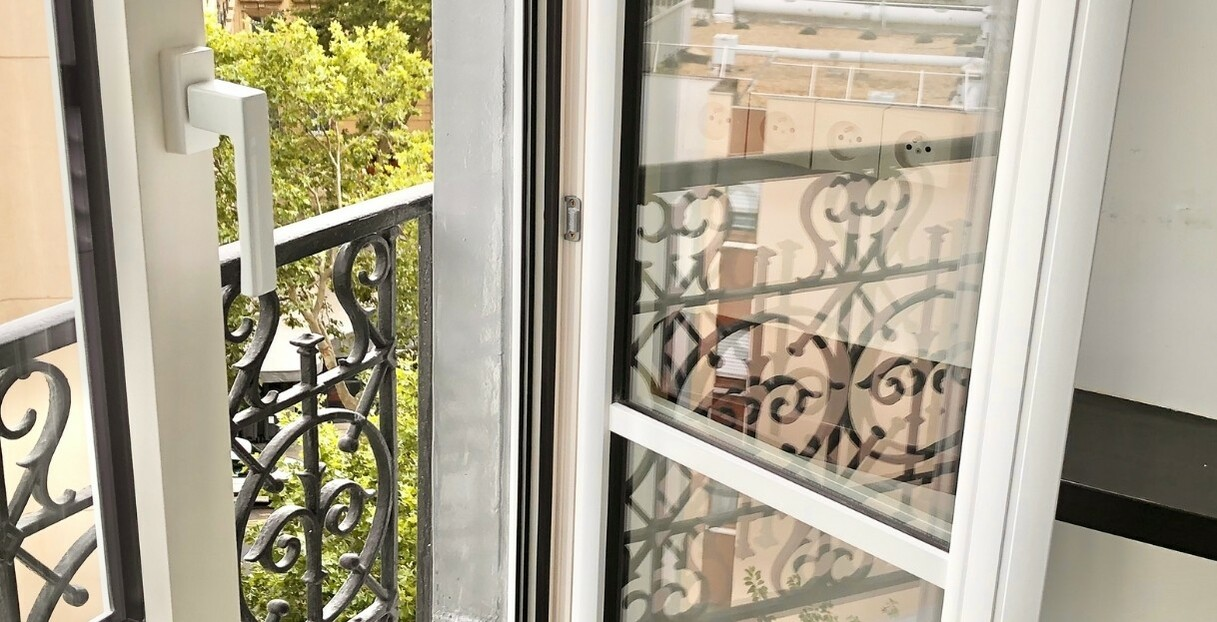 détail fenêtre bois aluminium eben paris